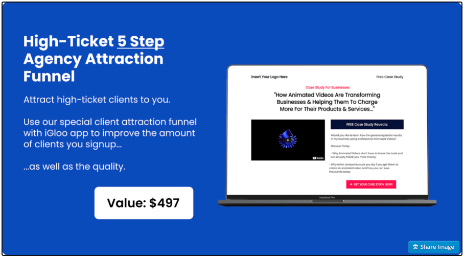 High-Ticket Agency Attraction Funnel