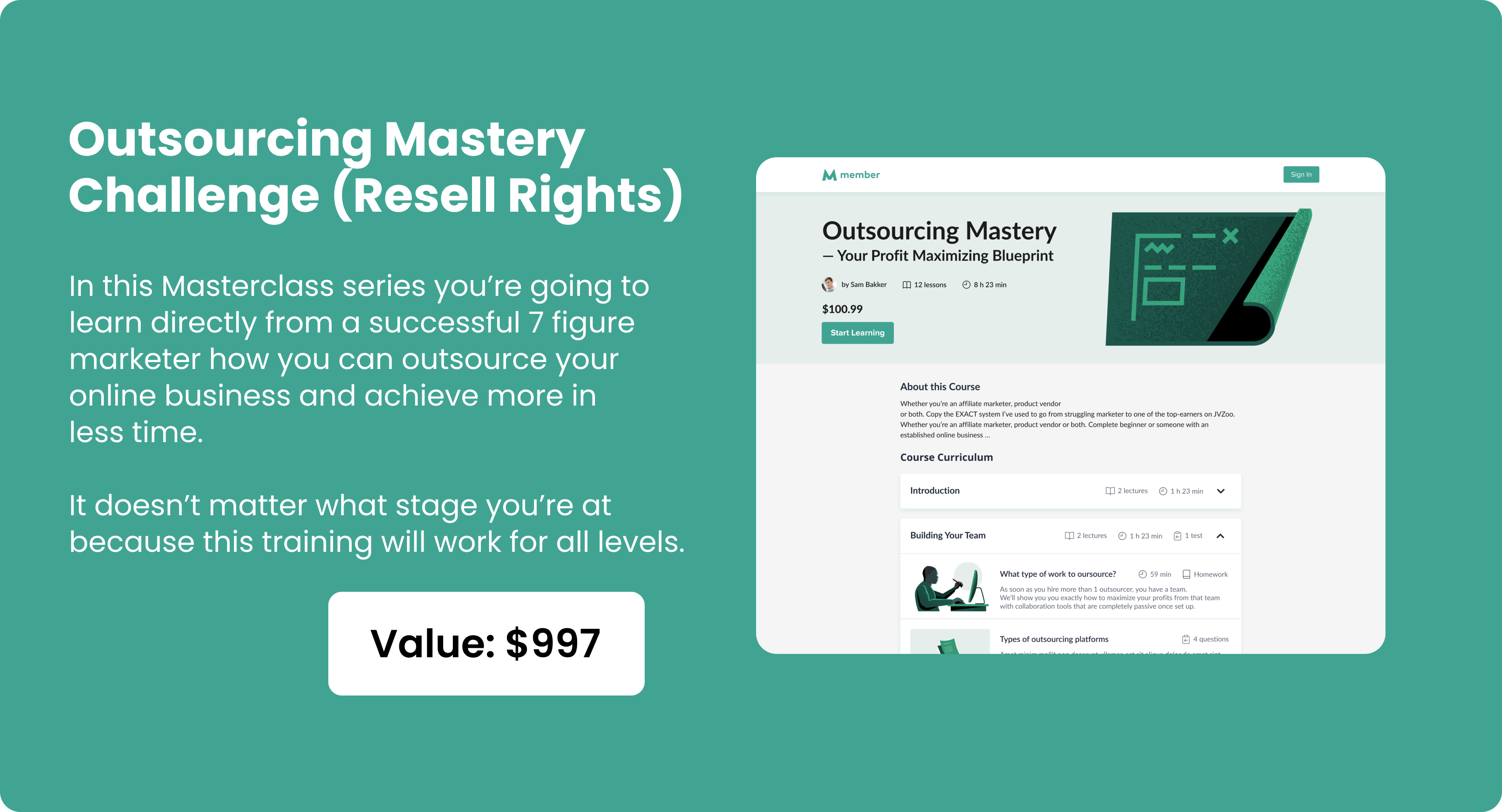 Outsourcing Mastery Challenge