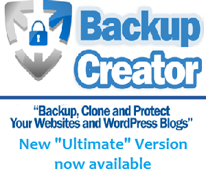 Safely, quickly create backups of WP sites with Backup Creator