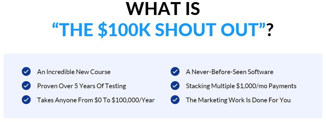 $100K Shout Out