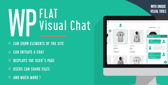 WP Flat Visual Chat v5.385