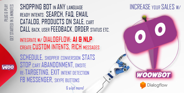 WoowBot v10.9.9 - Chat Bot for WooCommerce