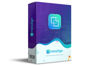 Instazign Pro marketing graphics design software