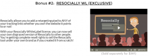 Resocially Bonus
