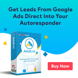 Ads-to-List, list building software