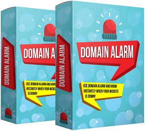 domain alarm software