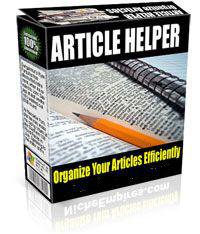 Article Helper software