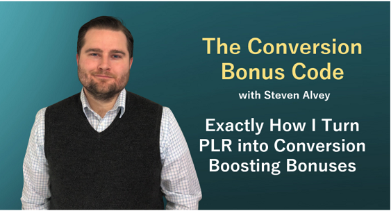 Bonus: How to use PLR in your business